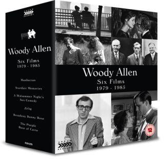 Woody Allen Six Films 1979 - 1985