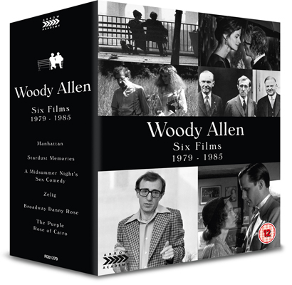 Woody Allen Six Films 1979 - 1985