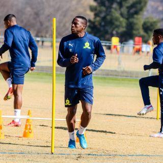 Mamelodi Sundowns midfielder George Maluleka