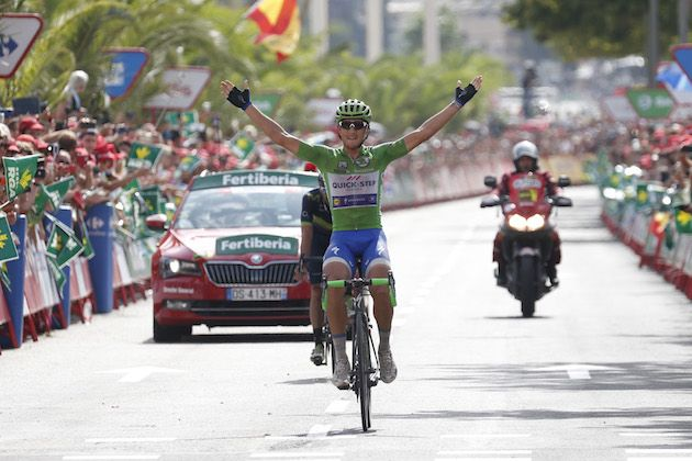 Trentin sprints to stage win as Froome retains lead