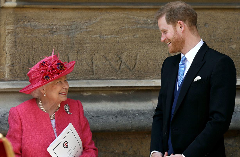 queen elizabeth sensitive prince harry princess margaret