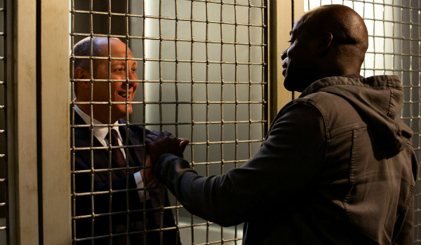 The Blacklist Red James Spader Dembe Hisham Tawfiq