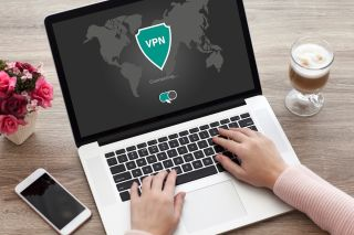 VPN on laptop