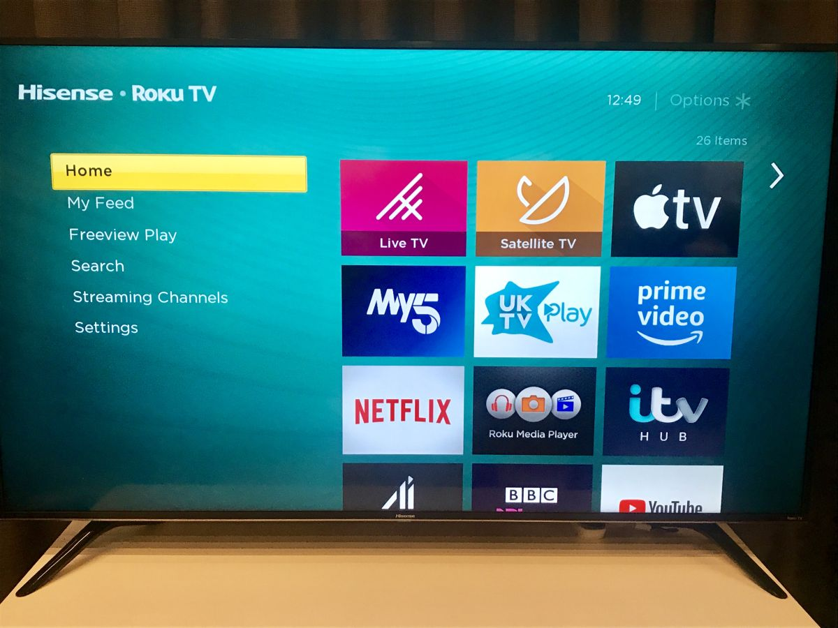 Hisense Roku 4K TVs will launch for the first time in the UK