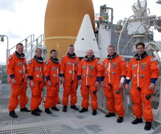 Eager Space Shuttle Crew Ready to Fly