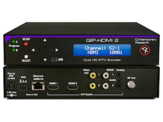 Contemporary Research Introduces QIP Series of Dedicated Dual-Program IPTV Encoders