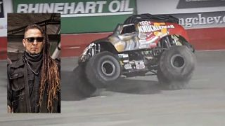 Zoltan Bathory and monster truck