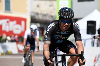Nicholas Roche of Ireland and Team DSM raced at the Tour of the Alps 2021