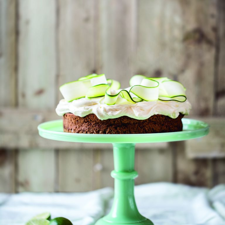 Photo of courgette lime cake
