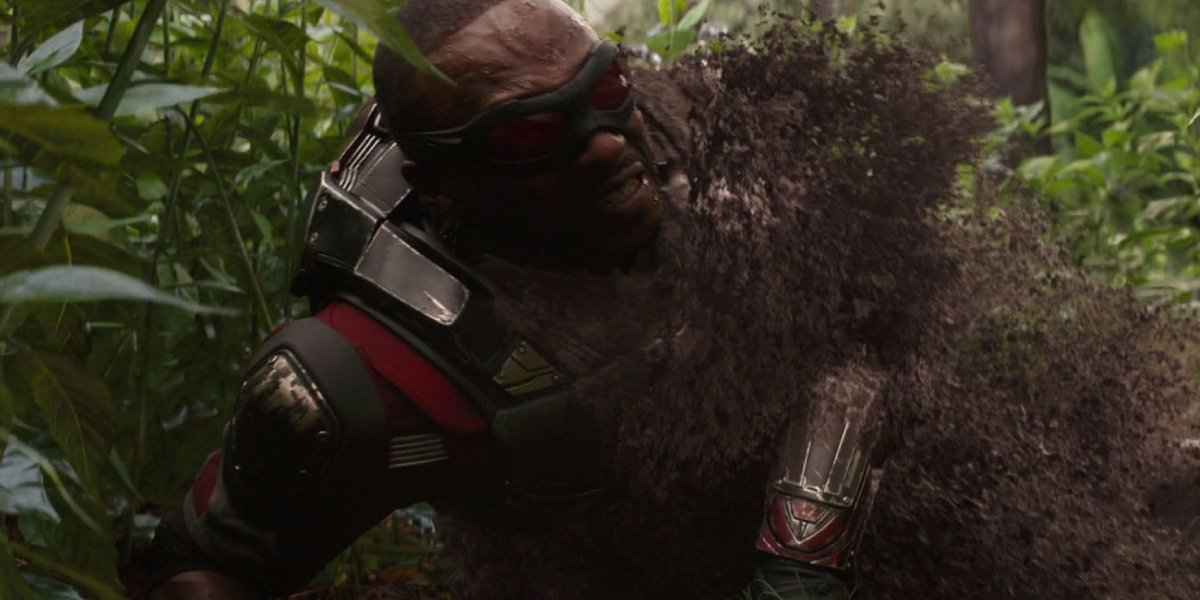 Anthony Mackie in Avengers: Infinity War