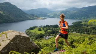 Alex Staniforth running in the Lake District
