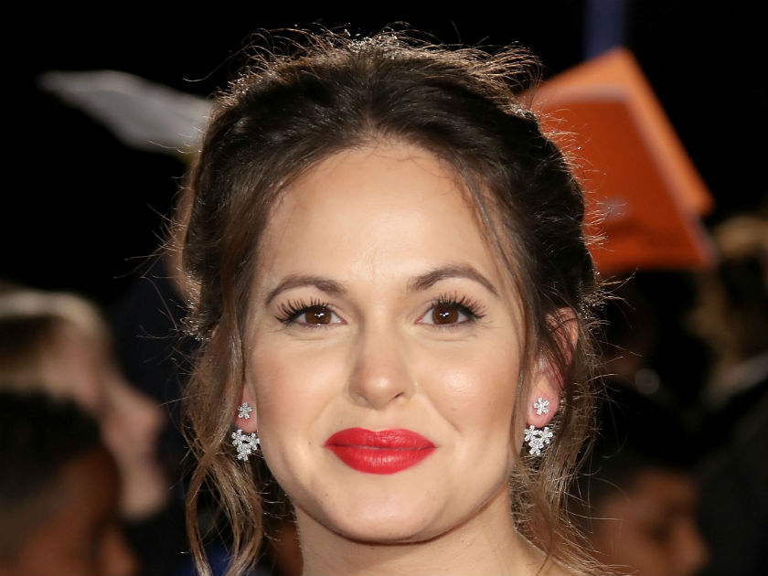 Giovanna Fletcher 'didn't sleep' before chat with Duchess of Cambridge