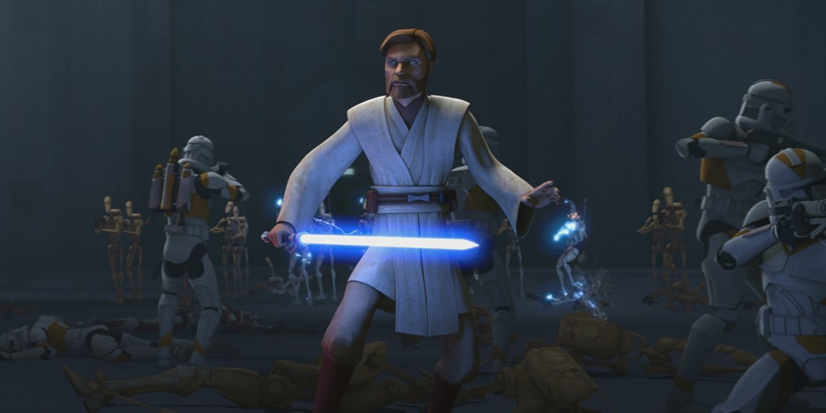 How Much Star Wars The Clone Wars Obi Wan Actually Knows About Anakin And Padme Cinemablend