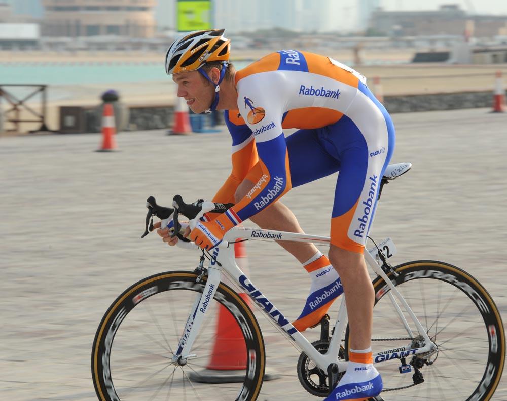 Lars Boom wins Tour of Qatar 2011, prologue