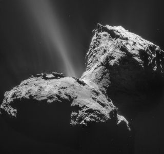 Comet 67P/Churyumov-Gerasimenkoon January 31, 2015,
