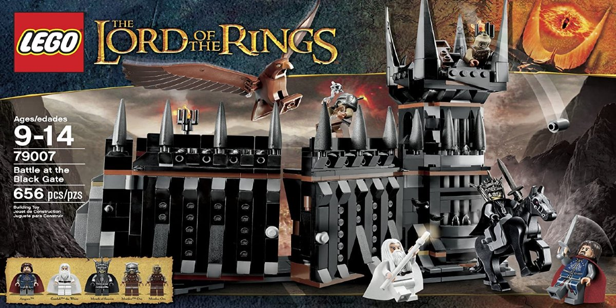 LEGO Lord Of The Rings Battle At The Black Gate Set