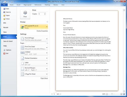 واجهة الرنامج تحميل office 2010 باللغة العربية والانكليزية كامل + مع التفعيل