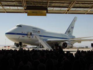SOFIA Observatory Debuts at NASA Dryden