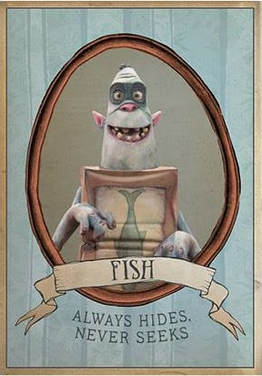 New boxtrolls images reveal quirky and clever character traits for Clever fish names