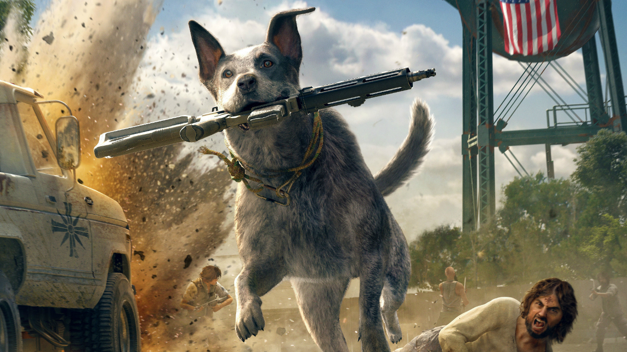 How To Get Boomer The Dog In Far Cry 5 Gamesradar