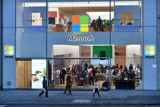 A Manhattan Microsoft Store