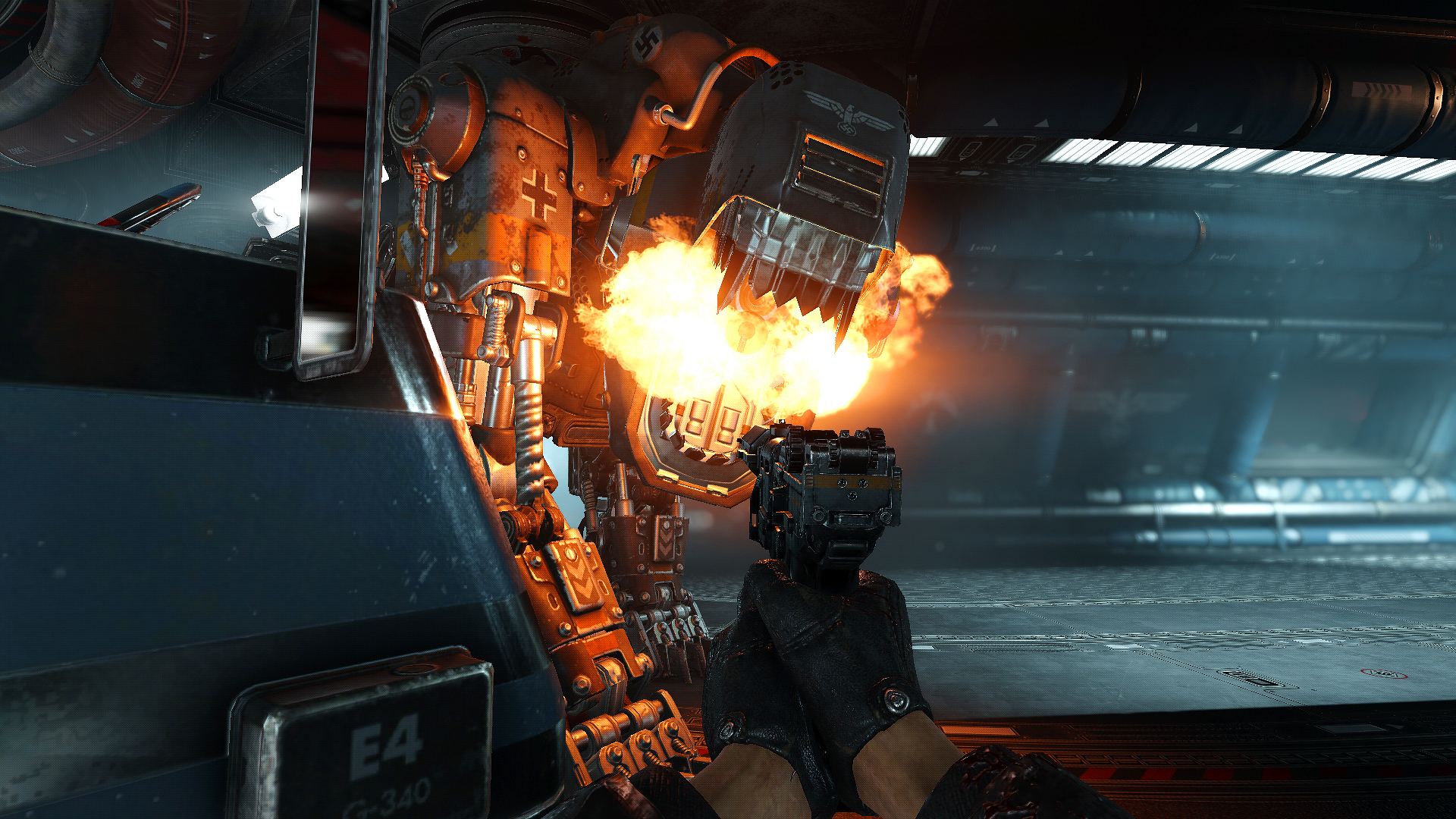 Wolfenstein 2 The New Colossus Review On Nintendo Switch An