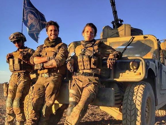 Monster Hunter's film adaptation looks more like Call of Duty in these set photos
