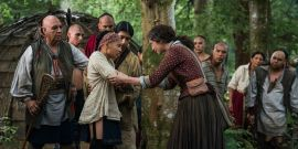 Why Outlander Went To A 'Massive' Expense To Build A Whole Mohawk Village In Scotland