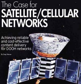 THE CASE FOR SATELLITE/CELLULAR NETWORKS