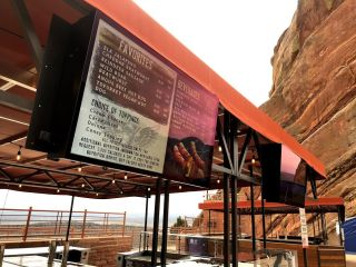 Peerless-AV, PingHD Revamp Red Rocks Amphitheatre's Concession Stands