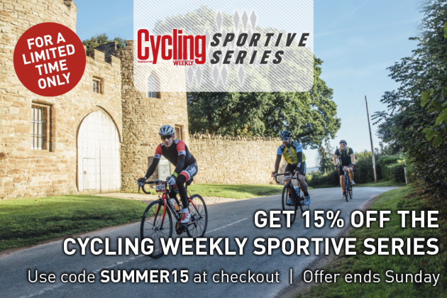 Cycling Weekly Sportive Series 15 off