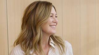 Meredith Grey smiles