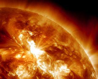 solar flare, aurora solar storm