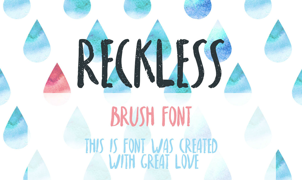 Best free fonts: Reckless