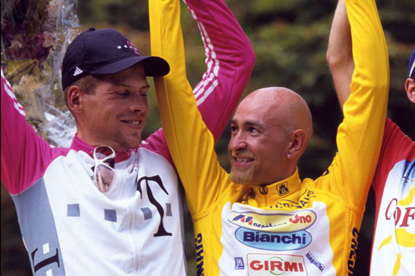 Jan Ullrich and Marco Pantani, Tour de France 1998