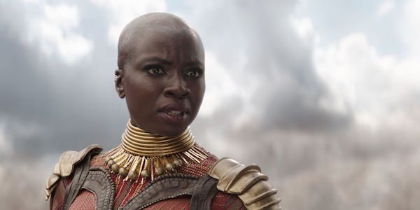Okoye in Infinity War