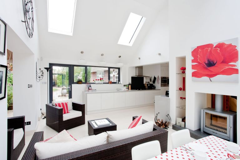 Conservatory Replaced With A Kitchen Extension