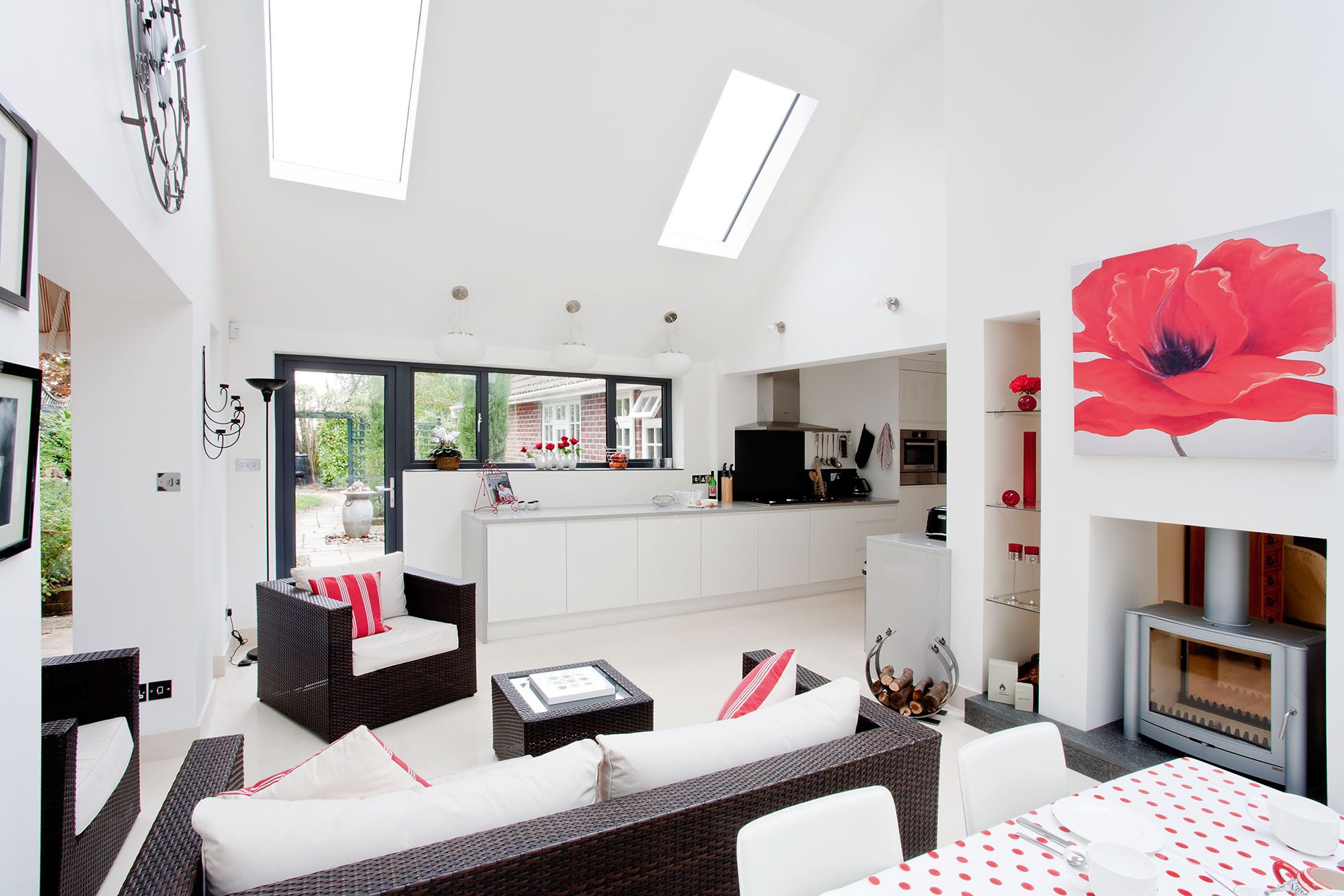 Kitchen And Living Room Extensions - Living Room Ideas