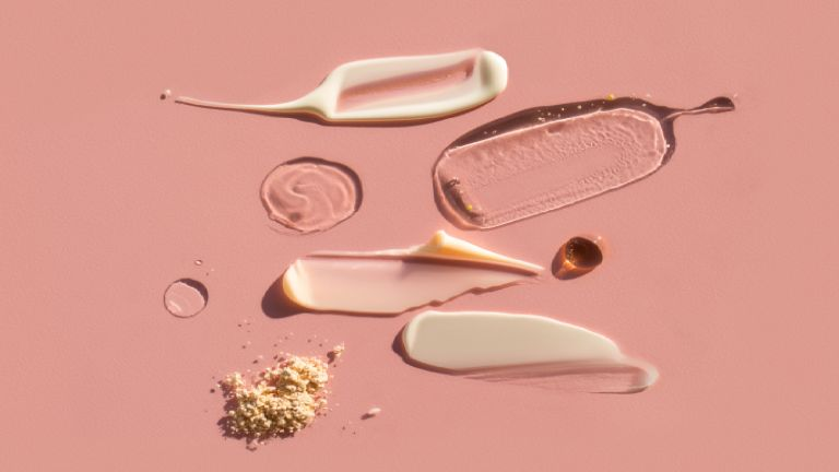 phenoxyethanol as a preservative in swatches of various beauty products