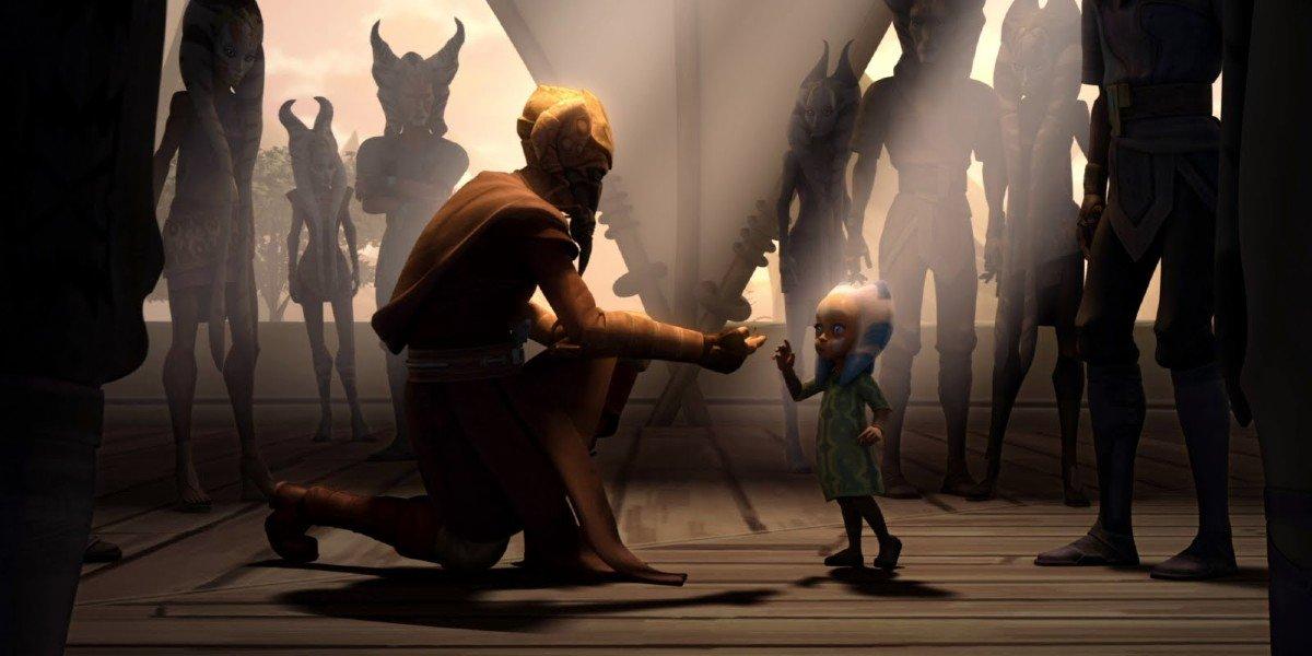 Plo Koon and Ahsoka Tano on Star Wars: The Clone Wars