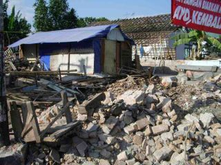 Rubble from 2006 Java quake