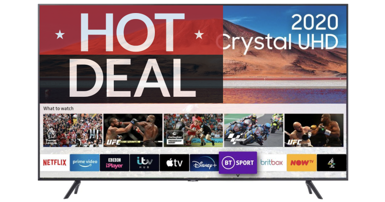 Samsung 4K Smart TV Currys Black Friday deals 2020