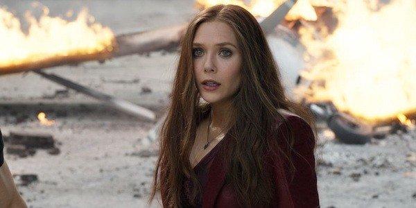 Elizabeth Olsen Scarlet Witch Avengers Age Of Ultron Marvel