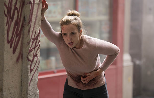 Jodie Comer Villanelle injured