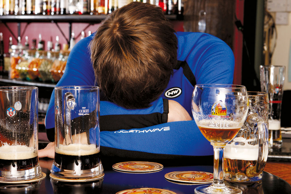 Can cycling cure a hangover?