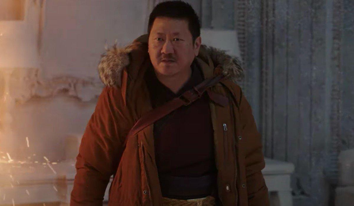Wong admonishing Doctor Strange Spider-Man: No Way Home
