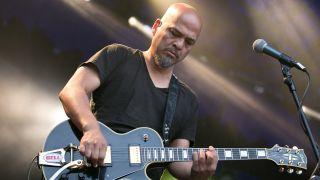 A picture of Pixies guitarist Joey Santiago