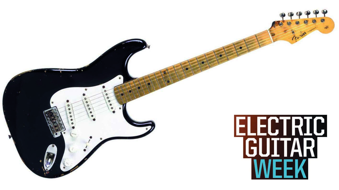 Under The Microscope Eric Clapton S Blackie Strat Musicradar