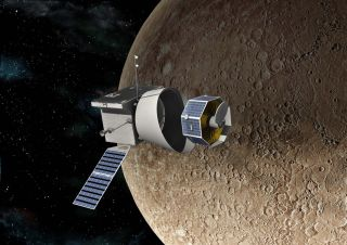 BepiColombo mission at Mercury