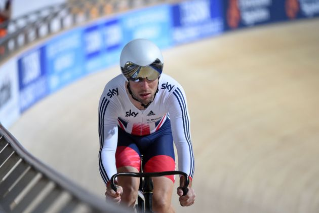 Mark Cavendish at the Revolution Series in Derby (Andy Jones)